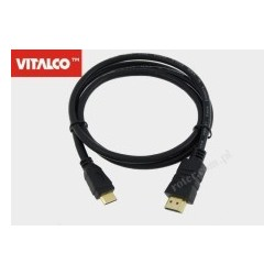 Przyłącze HDMI / mini HDMI Vitalco HDK72 1,8m