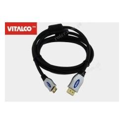 Przyłącze HDMI / mini HDMI Vitalco HDK74 1,2m blister