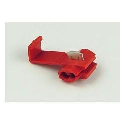 Szybkozłącze samochodowe czerwone 0,5-1mm