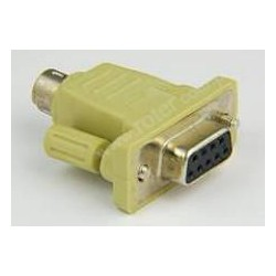 Adapter gniazdo 9 / wtyk PS2
