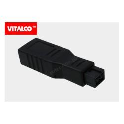 Adapter wt.IEEE 1394 9p-gn.6p Vitalco DSF90