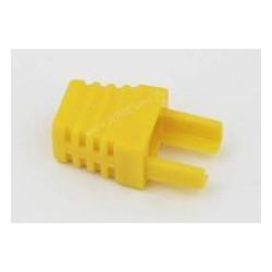 Odgiętka wtyku 8P8C, żółta