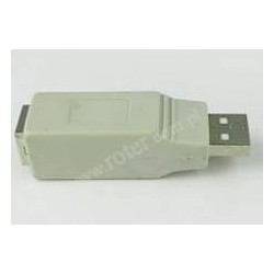 Adapter gniazdo USB B / wtyk USB A