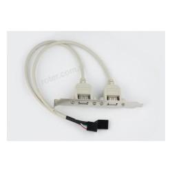 Port USB z 2 gniazdami 5C