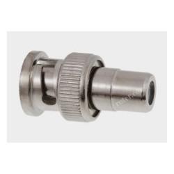 Adapter gn.RCA/wt.BNC nikiel