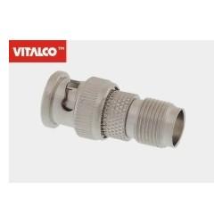 Adapter gniazdo TNC / wtyk BNC Vitalco ET71