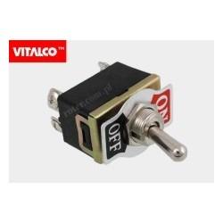 Przeł. dźwigniowy 4pin/2poz on-off VS5353 Vitalco PRV040