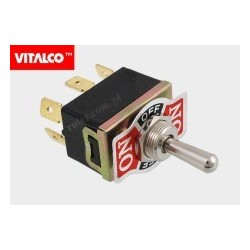 Przeł. dźwigniowy 6pin/3poz (on)-off-(on) VS5364 Vitalco PRV070