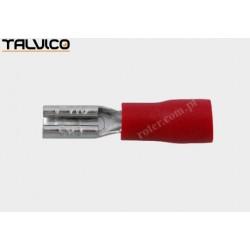 Konektor izol. 2.8*0.5 Ż czerwony RoHS