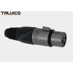 Gniazdo mikrof. 3p M030