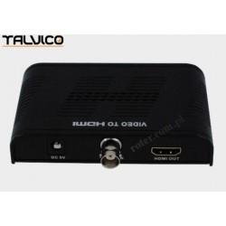 Konwerter BNC wej/HDMI wyj LKV366 Talvico