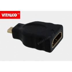 Adapter gn.HDMI/wt. mikro HDMI Vitalco