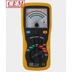 DT-5503 Analogowy miernik izolacji CEM