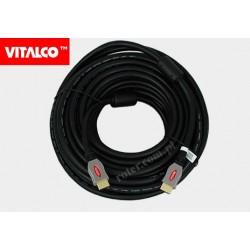 Przyłącze ultra HDMI ver. 2.0 18m/24awg blister HDK60 Vitalco