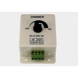 Ściemniacz LED 12V 8A 96W manualny