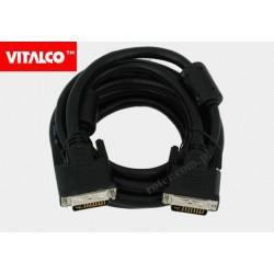 Przyłącze DVI (24+5) 3,0m DSKDV06 Vitalco