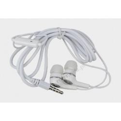 Słuchawki Fiesta FISXT-210W z mikrofonem białe