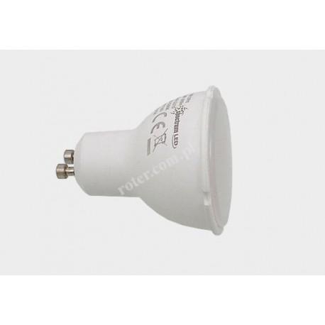 Żarówka LED GU10 10W/230V ciepła (mleczna)