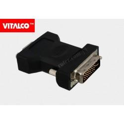 Adapter wt. DVI/gn. SVGA Vitalco