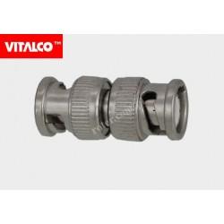 Adapter wtyk BNC / wtyk BNC Vitalco BNW50