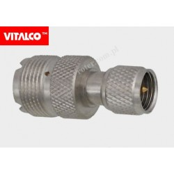 Adapter wtyk UHF mini / gniazdo UHF Vitalco