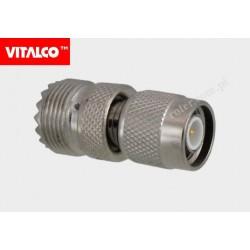 Adapter wtyk TNC / gniazdo UHF Vitalco ET64