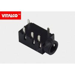 Gniazdo 3,5.(4-polowe) montażowe Vitalco J95