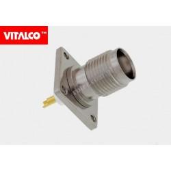 Gniazdo TNC do obudowy prostokątne Vitalco ET56