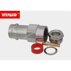 Gniazdo BNC skręcane na kabel BNG10 RG58 Vitalco