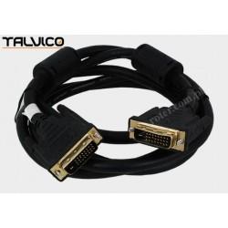 Przyłącze DVI (24+1) złote 1,8m DSKDV03G Vitalco