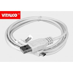 Przyłącze USB-mikro USB 1,5m białe DSF66 Vitalco