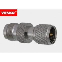Adapter wtyk mini UHF/gniazdo TNC Vitalco EU575