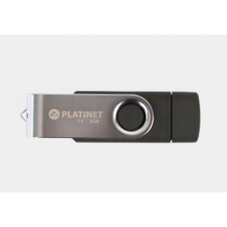 Pamięć USB 2.0 8GB Platinet Silver