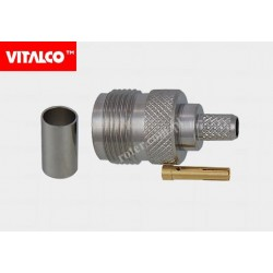Gniazdo N na kabel H155 zaciskane Vitalco EN155