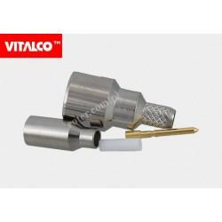 Wtyk FME zaciskany EF05 RG174 Vitalco