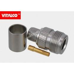 Gniazdo N na kabel H1000 zaciskane Vitalco EN165
