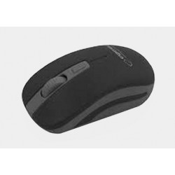 Mysz bezp. URANUS czarno-szara EM126EK