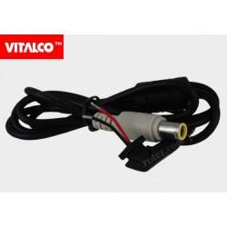 Wtyk DC 0.9/5.5/7.9 z przewodem 1,2m DCK20 Vitalco