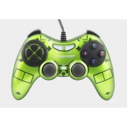 Gamepad Esperanza Fighter USB zielony