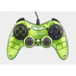 Gamepad Esperanza Fighter USB zielony
