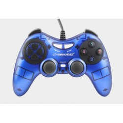 Gamepad Esperanza Fighter USB niebieski