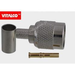 Wtyk RTNC na kabel H155 zaciskany Vitalco ET12
