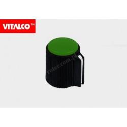 Gałka typ 52 zielona Vitalco