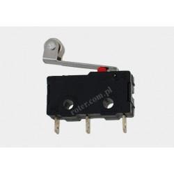 Przełącznik krańcowy mini z rolką