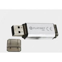 Pamięć USB 2.0 32GB Platinet V-DEPO SILVER