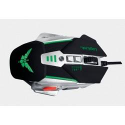 Mysz dla graczy 2400dpi, świecąca, 3 kolory