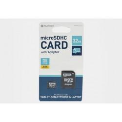 Karta pamięci mikroSD Platinet 32GB z adapterem