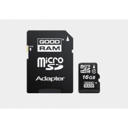 Karta pamięci mikroSD GOODRAM 16GB z adapterem (class 10)