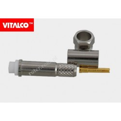 Gniazdo FME na kabel H155 zaciskane Vitalco EF11