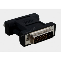 Adapter wt. DVI-I/gn. DVI-D